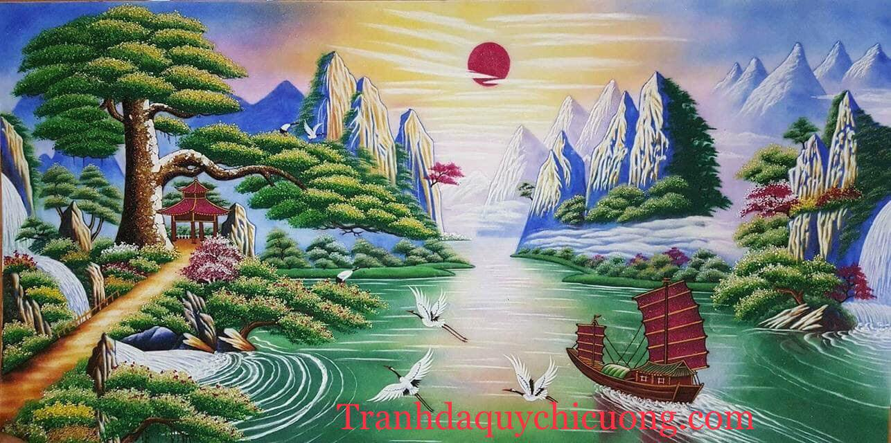 tranh da quy tung don khach - Home